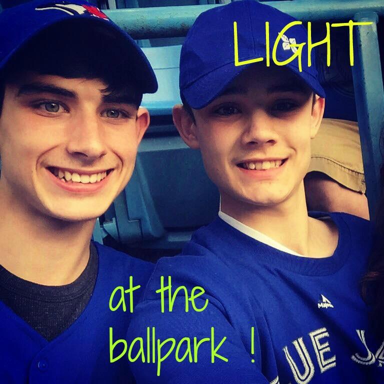 DANIEL AND ALEX LIGHT desk top